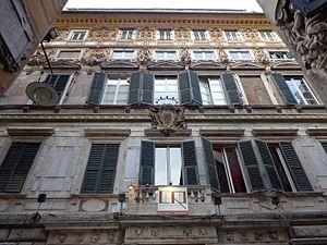 Imperiali family - Image: Palazzo Gio Vincenzo Imperiale 09