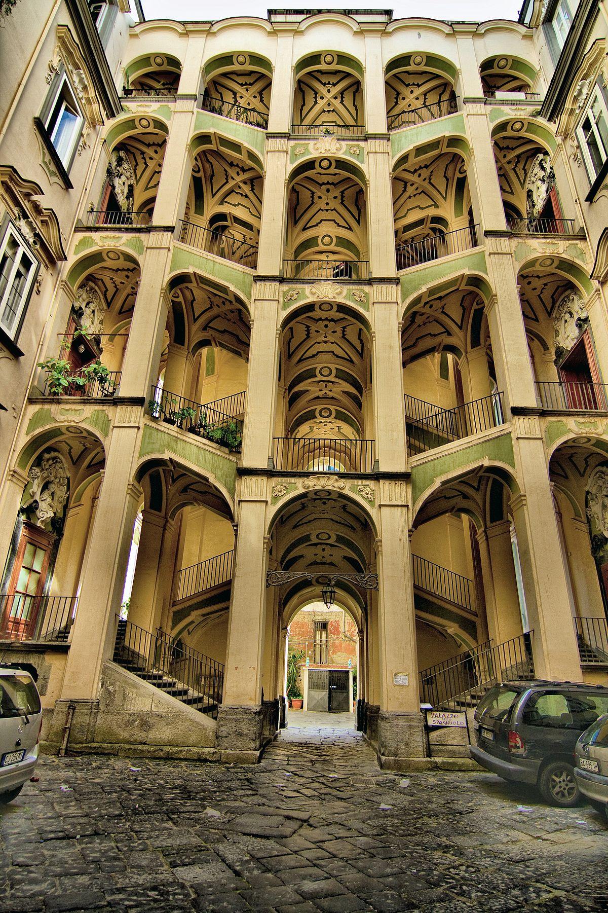 Palazzo dello spagnolo naples wikipedia for Palazzo in stile spagnolo
