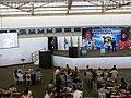 Palestra da astronauta norte americana Ellen Baker no Domingo com o Astronauta, evento comemorativo dos 10 anos da Missão Centenário, a primeira missão espacial brasileira que levou ao espaço o astrona - panoramio (6).jpg