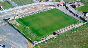Panarkadikos F.C. - Panarkadikos stadium from above
