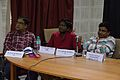 Panellists - Panel Discussion - Collaboration with Academic Institutes for the Growth of Wikimedia Projects in Indian Languages - Bengali Wikipedia 10th Anniversary Celebration - Jadavpur University - Kolkata 2015-01-09 2894.JPG
