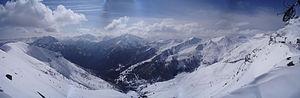 Pra-Loup - Image: Panorama de Pra Loup