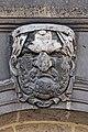 Paris - Les Invalides - Façade nord - Mascarons - 045.jpg