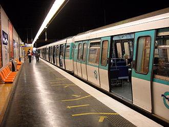 Malakoff – Plateau de Vanves (Paris Métro) - Image: Paris metro Malakoff Plateau de Vanves 1