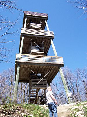 Kettle Moraine State Forest - Parnell Observation Tower