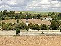 Parnes (60), église Saint-Josse, approche par l'est 1.jpg