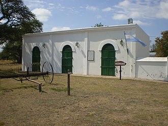 La Pampa Province - Stables at the former Roca-Luro Estate, now the Luro Prairie Preserve.