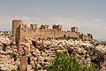 Part of the city walls, from Alcazaba, Almeria, Spain.jpg