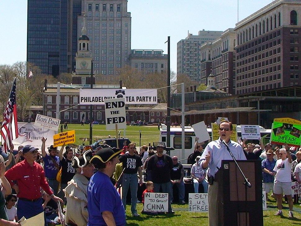 Pat Toomey - Philadelphia Tea Party II 2009
