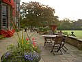 Patio at Gisborough Hall Hotel - geograph.org.uk - 1006436.jpg