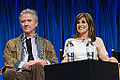 Patrick Duffy and Linda Gray at PaleyFest 2013.jpg