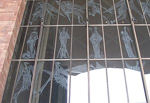 John Hutton (artist) - Great West Screen of Coventry Cathedral
