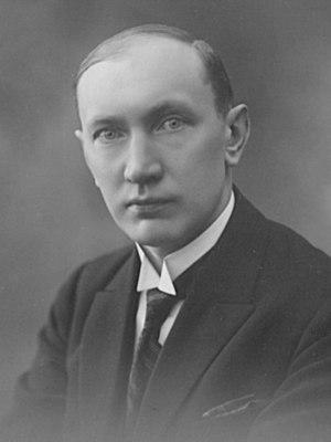 Paul Kogerman - Image: Paul Kogerman, 1920s