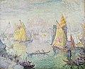 Paul Signac, 1905, The Lagoon of Saint Mark, Venice, oil on canvas, 129.5 x 162.6 cm, Chrysler Museum of Art.jpg