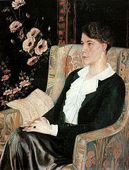 Portrait of Yevdokia Glebova