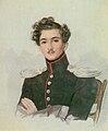 Pavel Grig. Demidov (1809-1858) by P.Sokolov (1820s, Tropinin museum).jpg