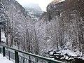 Paysage de neige dans les gorges de la Bourne (mars 2009) - panoramio.jpg
