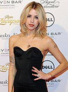 Peaches Geldof British journalist, television presenter and model