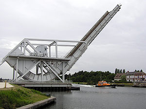 Bascule bridge - Image: Pegasus bridge new