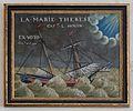 Peinture ex voto Marie Thérèse dans l'Église Sainte-Catherine de La Flotte.jpg
