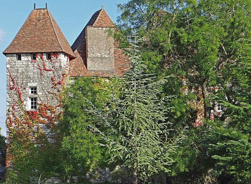 Penne-d'Agenais - Château de Noaillac - Côté ouest