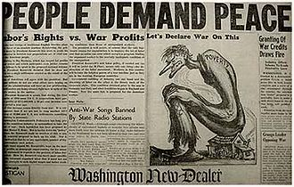 History of the Communist Party USA - Image: People Demand Peace