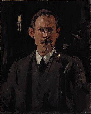 Samuel Peploe - self portrait (1904)