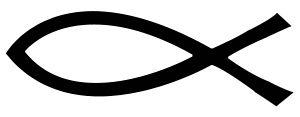 Simbolo del pesce, legato al Cristianesimo (in...