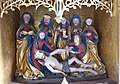 Pesenbach St. Leonhard - Hochaltar Predella 1 Beweinung.jpg