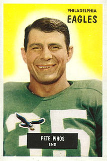 Pete Pihos American football player and coach
