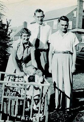 Peter Henrici (mathematician) - Peter Henrici (middle), Washington D.C. 1953