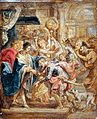 Peter Paul Rubens - The Reconciliation of King Henry III and Henry of Navarre.JPG