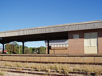 Peterborough railway station, South Australia - Station in March 2009