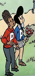 Petoetje Belgian comic strip character, created 1950
