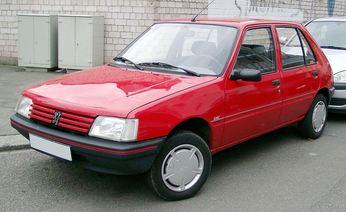 peugeot 205, 1985 описание фото