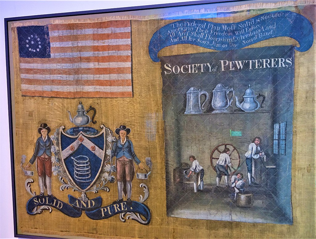 Pewterers' Banner 1788