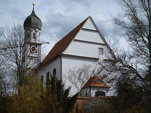 Pfarrkirche St. Johannes der Täufer Adelsried 02