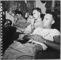 Photograph of Crew Members on Break Aboard the U.S.S. Monterey - NARA - 187034.tif
