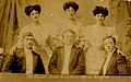 Photographic postcard of Mr Ernest Lords Excelsior Opera Singers (10448392933).jpg