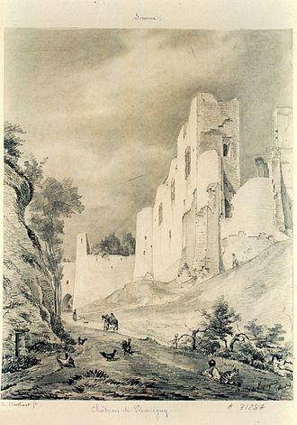 Picquigny - Image: Picquigny Chateau