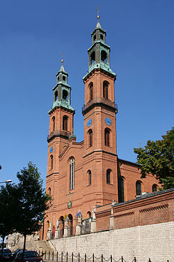 Piekary Śląskie - Basilica of St Mary and St Bartholome 01.jpg