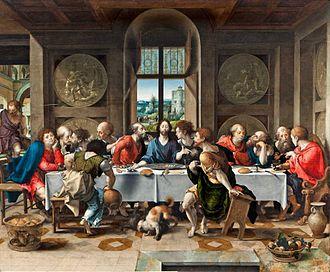 Pieter Coecke van Aelst - The Last Supper