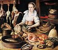 Pieter Cornelisz. van Rijck - The Kitchen Maid - WGA19496.jpg