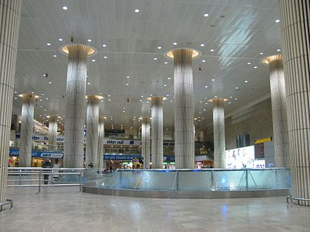 Reception hall, Ben Gurion International Airport PikiWiki Israel 11466 Airport reception hall.JPG