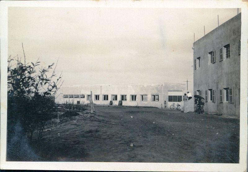 בניינים בקיבוץ רודגס