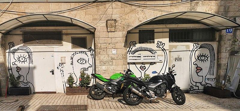 מבנה סמוך לשדרות ירושלים