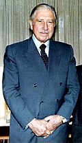 Augusto Pinochet, the 30th president of Chile