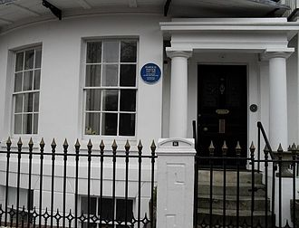 The Homecoming - Pinter's home in Ambrose Place, Worthing, where he wrote The Homecoming