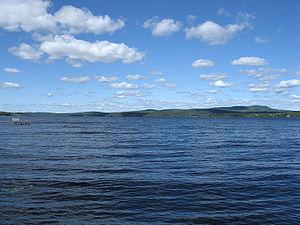 Piopolis, Quebec - Megantic Lake in Piopolis