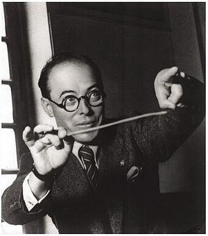 Pippo Barzizza - Pippo Barzizza with his baton